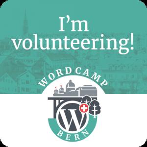 I'm volunteering